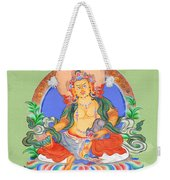 Dzambala The Buddha Of Wealth Weekender Tote Bag