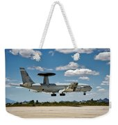 E-3 Sentry A W A C S Weekender Tote Bag