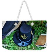 E Company Black Hat Weekender Tote Bag