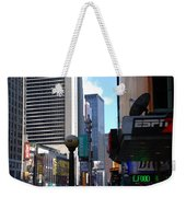 E Food  Taxi  New York City Weekender Tote Bag