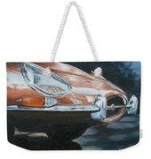 E-type Jaguar Weekender Tote Bag