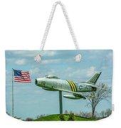Eaa F-86 Sabre Weekender Tote Bag