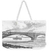 Eads Bridge, St Louis Weekender Tote Bag