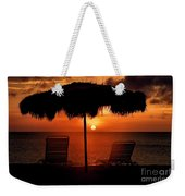 Eagle Beach Sunset Weekender Tote Bag