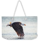 Eagle Catch Weekender Tote Bag