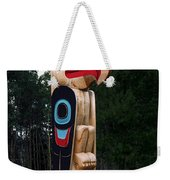 Eagle Clan Totem Pole Weekender Tote Bag