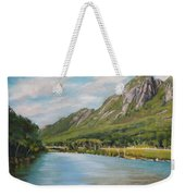 Eagle Cliff New Hampshire Weekender Tote Bag
