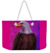 Eagle Crimson Skies Weekender Tote Bag