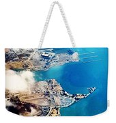Eagle Eye Of An Ocean Bay Weekender Tote Bag