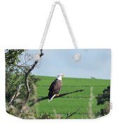 Bald Eagle Overlook Weekender Tote Bag