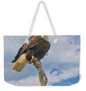 Eagle Eyes Weekender Tote Bag