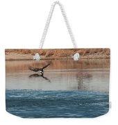 Eagle Fishing Weekender Tote Bag