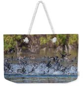Eagle Induced Chaos Weekender Tote Bag