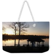 Eagle Lake Weekender Tote Bag