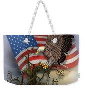 Eagle Lands Weekender Tote Bag