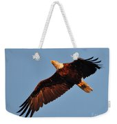 Eagle Over The Fox Weekender Tote Bag