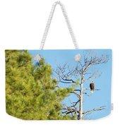 Eagle Perch Weekender Tote Bag