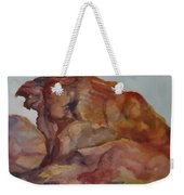 Eagle Rock In Valley Of Fire Weekender Tote Bag