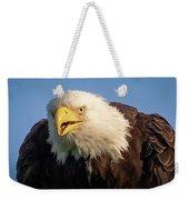 Eagle Stare 2 Weekender Tote Bag
