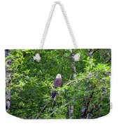 Eagle Watch Weekender Tote Bag