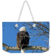 Eagle Watch Weekender Tote Bag