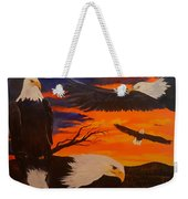 Eagles Are Back                 76 Weekender Tote Bag