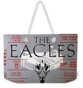 Eagles Concert Ticket 1980 Weekender Tote Bag