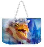 Eagle's Cry Weekender Tote Bag