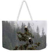 Eagles On Watch 1 Weekender Tote Bag