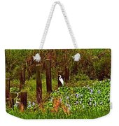 Egret And Heron Weekender Tote Bag
