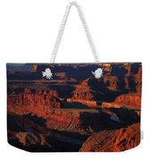 Early Morning Light Hits Dead Horse Point State Park Weekender Tote Bag