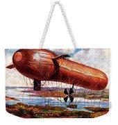 Early 1900s Military Airship Weekender Tote Bag