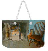 Early American Contemporary Weekender Tote Bag