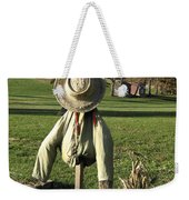 Early Autumn Scarecrow Weekender Tote Bag