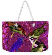 Early Bird Solar Energy Weekender Tote Bag by Joseph Mosley