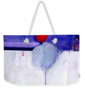 Early Blob 1 Optic Illusion Weekender Tote Bag