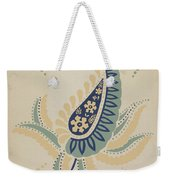 """Early Californian Skirt From The Portfolio """"decorative Art Of Spanish California"""" Weekender Tote Bag"""