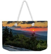 Blue Ridge Parkway Sunrise - Beacon Heights - North Carolina Weekender Tote Bag