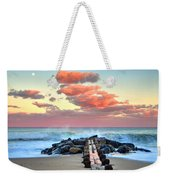 Early Evening At The Beach Weekender Tote Bag