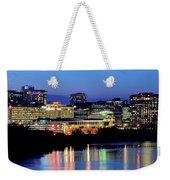 Early Evening In Hartford Weekender Tote Bag