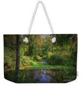Early Fall At Montauk State Park  Weekender Tote Bag