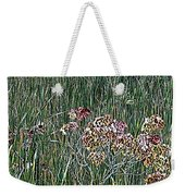 Early Fall Color Woodcut Weekender Tote Bag