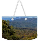 Early Fall In Virginia Weekender Tote Bag