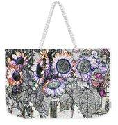 Early Flower Study Weekender Tote Bag