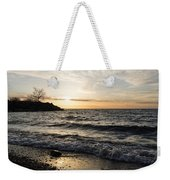 Early Lakeside - Waves Sand And Sunshine Weekender Tote Bag