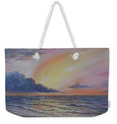 Early Joy Weekender Tote Bag by Fawn McNeill