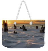 Early March Sleeping Giant Sunrize Weekender Tote Bag