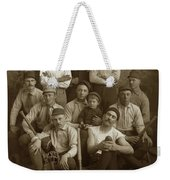 Early Monterey Baseball Team Circa 1895 Weekender Tote Bag