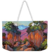 Early Morning At Indian Canyon Weekender Tote Bag