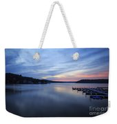 Early Morning At Lake Of The Ozarks Weekender Tote Bag